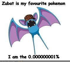 Zubat Meme - supersonic is my favorite move pokémemes pokémon pokémon go