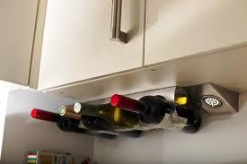 outstanding under cabinet wine rack ikea 33 on home remodel ideas
