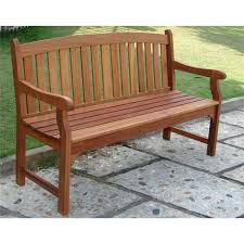 patio wooden patio bench pythonet home furniture