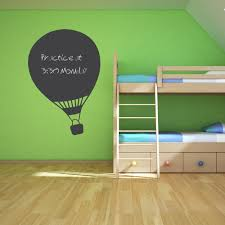 Wall Art Stickers And Decals by Air Balloon Chalkboard Wall Art Decal