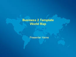 business world map template
