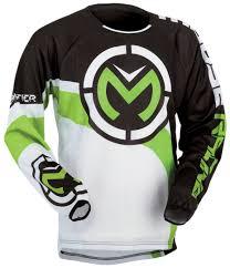 moose racing qualifier jersey motocross jerseys white green