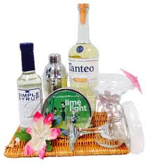 tequila gift basket tropical tequila cocktail gift basket by pompei baskets