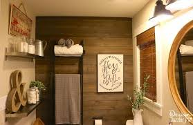farmhouse bathroom using ikea products hometalk