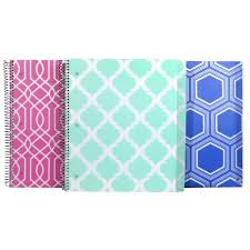 pattern play notebooks studio c 5 subject notebooks pattern play collection assorted