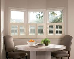 beautiful window coverings for kitchens with round table
