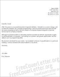 programming cover letter sample