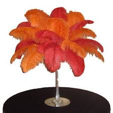 Ostrich Feather Centerpieces Wholesale by We Call This Ostrich Feather Centerpiece