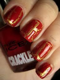 10 crackle nail polish design ideas crackle nails gold nail and