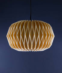 Origami Light Fixture Gorgeous Yellow Origami Light Shade 34 99 Free Uk Delivery