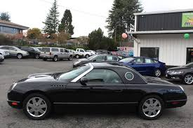 2002 Ford Thunderbird Premium Stock by Used 2002 Ford Thunderbird Hard Top Premium Everett Wa Del Sol