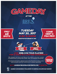 gameday at the rex hospital open tickets tue may 30 2017 at 2