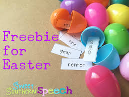 free easter speeches easter freebie for speech therapy sweet southern speech