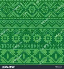 color native american ethnic pattern stock illustration 537617338