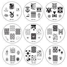 bundle monster 26pc nail art image manicure stamping plates cyo 1