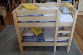 How To Make Wooden Doll Bunk Beds by Bunk Bed Birthday My Material Life