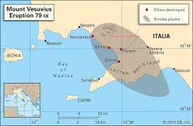 Map Of Italy And Greece by On August 24 79 C E Mount Vesuvius Erupted Killed Thousands