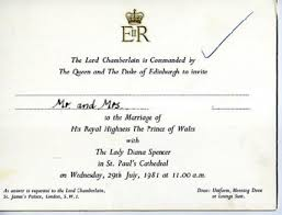 royal wedding invitation wedding invitation watcher prince william and kate