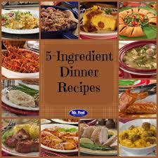 id cuisine simple 5 ingredient recipes 39 simple 5 ingredient dinners mrfood com