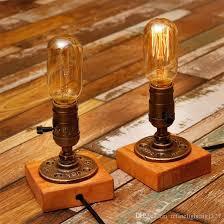 Edison Bulb Table Lamp 2017 Desk Lamp E27 Coffee Table Light Bar Lamparas Escritorio
