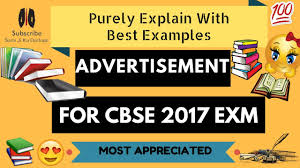 inauguration advertisement sample advertisement class 12 cbse board english writing 2017