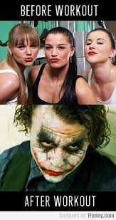 Girls At The Gym Meme - before workout vs after workout think its funny when the girls at