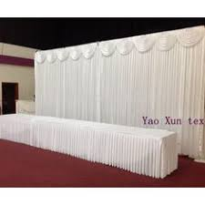wedding backdrop prices cheapest price white color wedding backdrop curtain stage background