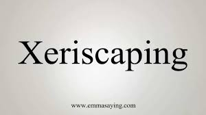 how to pronounce xeriscaping youtube