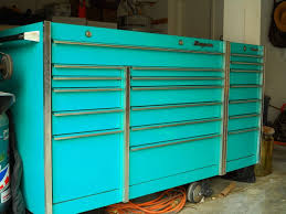 snap on tool box model krl 1001 with side cabinet krl 1011 teal