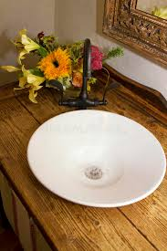 retro bathroom bowl sink faucet and counter royalty free stock