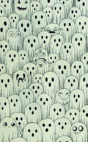 ghosts pattern pinterest wallpaper patterns and phone