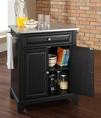 buy newport solid black granite top portable kitchen island