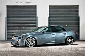lowered cadillac cts 360 forged cts v photoshoot