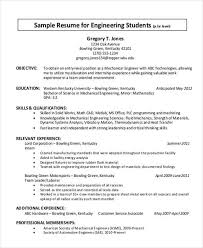 Sample Resume With Internship Experience by 51 Resume Format Samples
