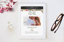 Wedding Websites Wedding Websites By Minted Help You Coordinate From Mailbox To