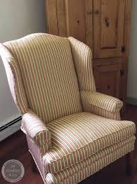 Upholstered Wingback Chair Cost To Re Upholster A Wing Chair