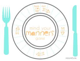 table manners for kids printable tools for surviving restaurants and teaching table manners table