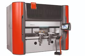 electric press brake compliments laser cutting operations
