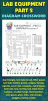 lab equipment crossword with diagram part 2 editable lab