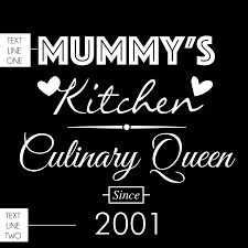 personalised mother u0027s day aprons by able labels
