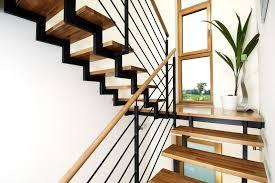 stahl holz treppe zweiholmtreppen