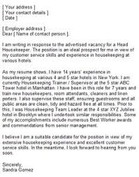 Housekeeper Resume Sample by This Housekeeper Resume Sample Will Help You In Drafting Your