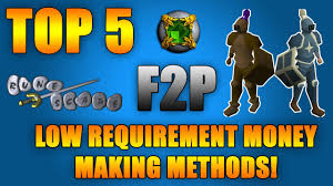 osrs top 5 f2p low requirement money making methods in depth