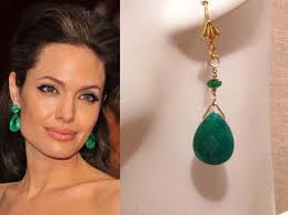 green earrings emerald green earrings emerald green