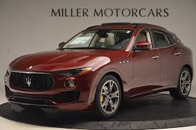 maserati levante red 2017 maserati levante stock m1867 for sale near westport ct