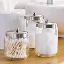 Glass Bathroom Storage Jars Bathroom Storage Jars Apothecary Jars Pinterest Storage Jars