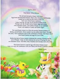 personalized easter letter b
