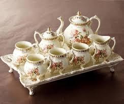 tea set coffee tea sets suits european trumpet each sets coffee cup kit