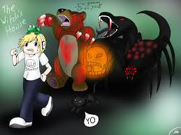 pewdiepie house pewdie plays the witch u0027s house by shinkou san on deviantart