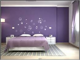 bedroom amuse for girls with purple color scheme and loft bed